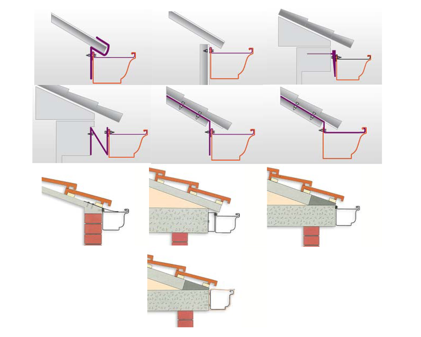Fabricacion trabajo e instalacion de canalon zurcanal for Canalon de aluminio