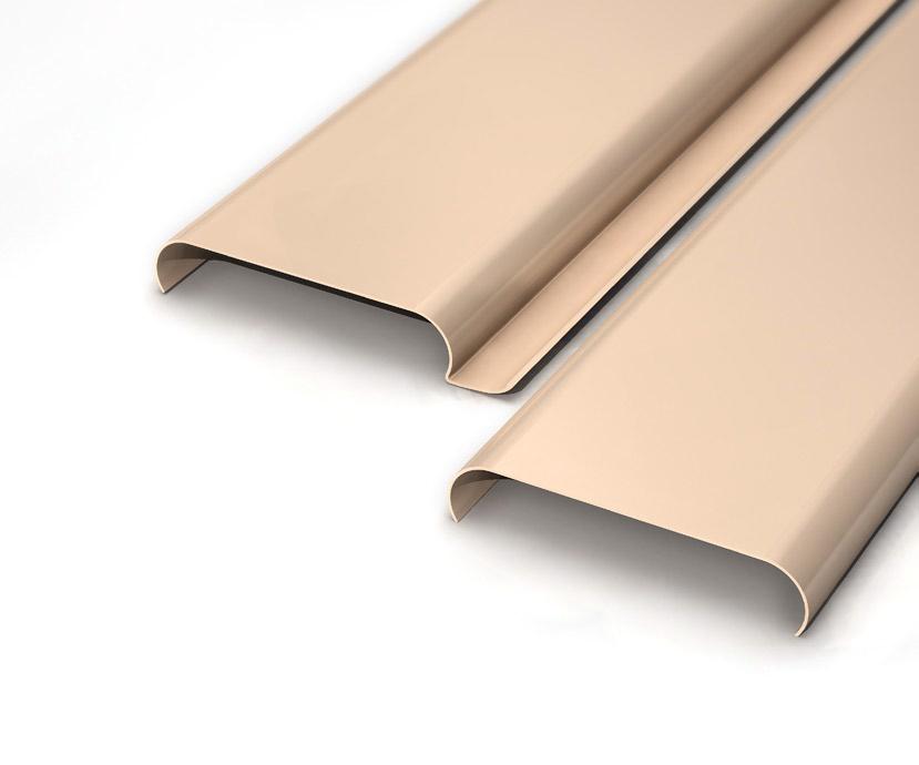 Falso techo de aluminio zurcanal for Lamas aluminio techo